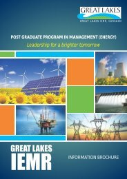 PGPM (Energy) Information Brochure - Great Lakes