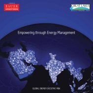 Empowering through Energy Management - Great Lakes Institute of ...