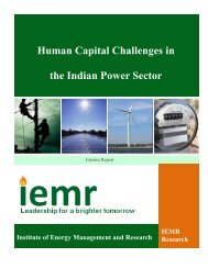 Human Capital Challenges in the Indian Power Sector - Great Lakes