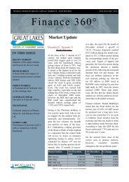 Finance 360° - Great Lakes