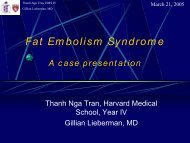 Fat Embolism Syndrome