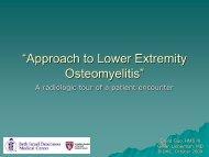 """Osteomyelitis of the Foot"" - Lieberman's eRadiology Learning Sites"
