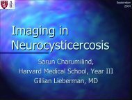 Imaging in Neurocysticercosis - Lieberman's eRadiology Learning ...