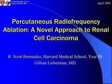 Percutaneous Radiofrequency Ablation