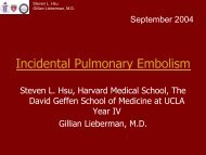 September 21, 2004 - Lieberman's eRadiology Learning Sites