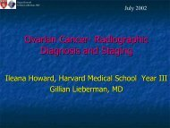 Ovarian Cancer- Radiographic Diagnosis and Staging - Lieberman's ...