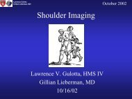 Shoulder Imaging
