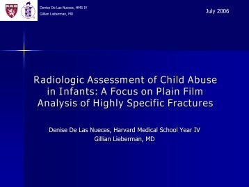 Radiological Assessment of Child Abuse - Lieberman's eRadiology ...