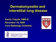 Dermatomyositis and Interstitial Lung Disease - Lieberman's ...