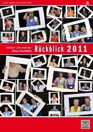 Rückblick 2011 - Fördern und Wohnen