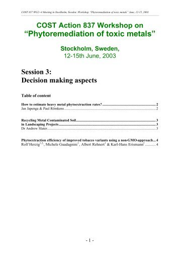 Session 3 - EPFL