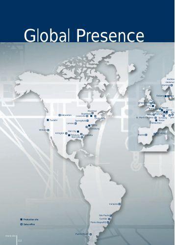 Global Presence - ANDRITZ Vertical volute pumps
