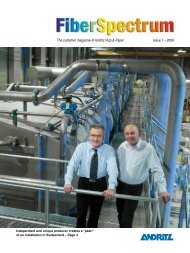 The customer magazine of Andritz Pulp & Paper Issue 1 – 2006