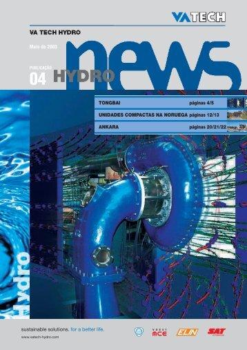 Maio de 2003 TONGBAI páginas 4/5 UNIDADES COMPACTAS NA ...