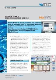 DIA TECH CORE – DATA MANAGEMENT MODULE