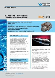 DIA TECH IRD – ROTOR POLE TEMPERATURE MONITORING