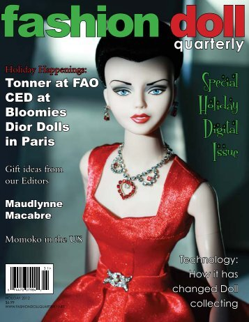 Special Holiday Digital Issue - Fashion Doll Quarterly!