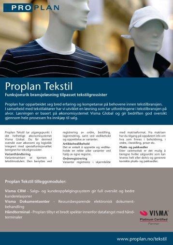 Proplan Tekstil - Office-adb