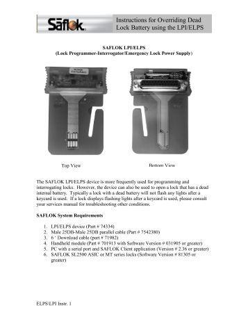 Saflok Insync Manual