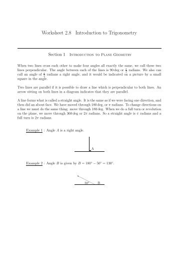 Best Ideas of Introduction To Trigonometry Class 10 Worksheets On ...