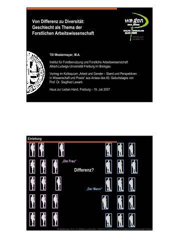 Vortrag Beim Festkolloquium Zum 60. Geburtstag Von Prof Till We