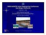 Case Study - De Soto Bridge over the Mississippi River - AASHTO ...