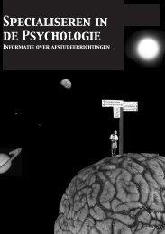 Specialiserenidpsy.indb - Universiteit van Amsterdam