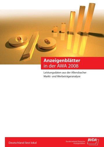 Broschüre AWA BVDA A4.qxd - AkZ Media