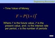 Engineering Economics lecture