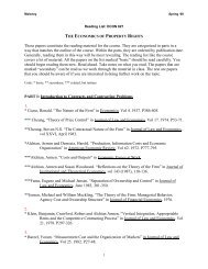 Reading List - Clemson University