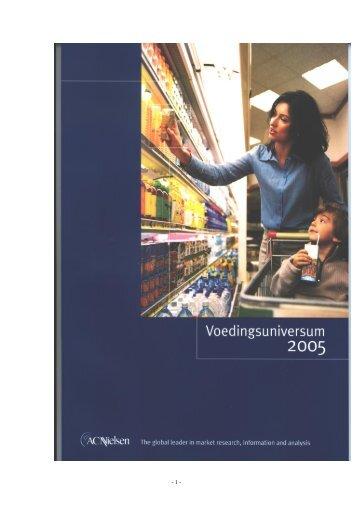 ACNielsen 2005 Grocery Universe September 2005 - België - Nielsen