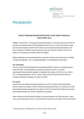 Persbericht - Nielsen