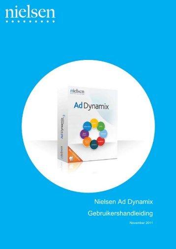 Nielsen Ad Dynamix Gebruikershandleiding