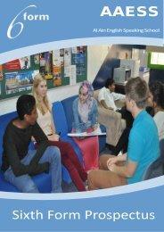 AS Level - Al Ain English Speaking School AAESS