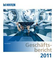 Geschäfts- bericht 2011