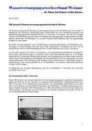 401 OB besucht WZV - Weimar