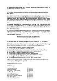 Der Stadtrat der Stadt Weimar hat in seiner 9. öffentlichen Sitzung ...