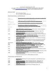 Carolyn Manosevitz's CV (PDF) - Center for Holocaust & Genocide ...