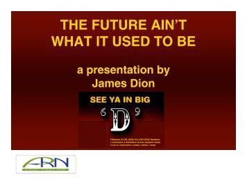 Jim Dion - Airport Revenue News Conference 2008