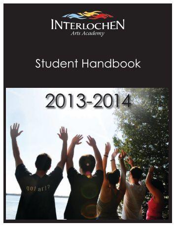 2012-13 Academy Student Handbook.pdf - Interlochen Arts ...