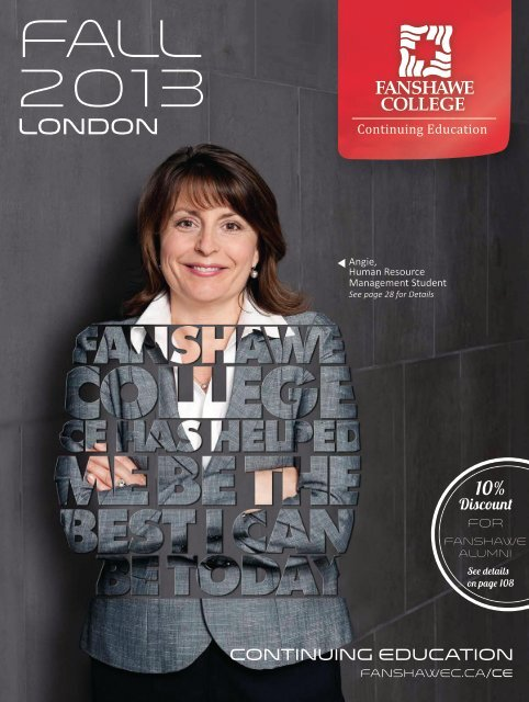 London Ce Guide Pdf Fanshawe College
