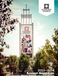 Fanshawe's Strategic Plan - Fanshawe College