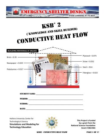 KSB conductive heat flow