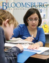 BU's strong tradition of teacher education continues. Page 16.