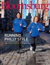RUNNING, PHILLY STYLE - Bloomsburg University