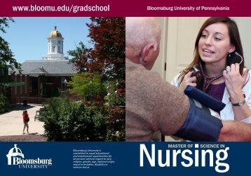 Nursing - Bloomsburg University