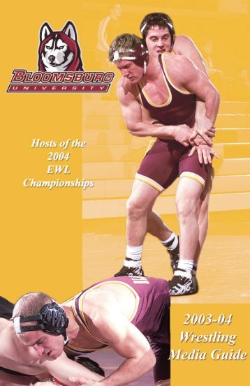 Media Guide (PDF) - Bloomsburg University