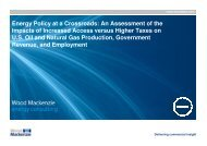 Energy Policy at a Crossroads: An Assessment of the Impacts of ...