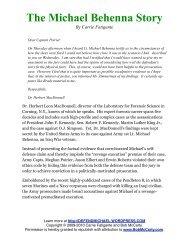 The Michael Behenna Story - Bob McCarty Writes