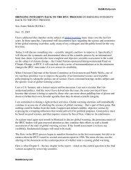 Inhofe Speech 11-15-2005 - Bob McCarty Writes